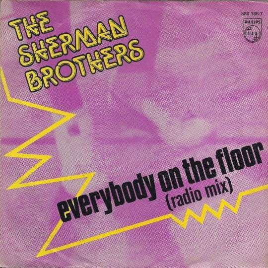 Coverafbeelding The Sherman Brothers - Everybody On The Floor (Radio Mix)