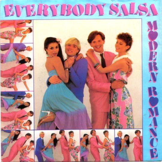 Coverafbeelding Modern Romance - Everybody Salsa