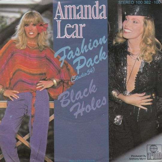 Coverafbeelding Fashion Pack - Amanda Lear