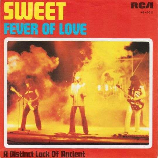 Coverafbeelding Fever Of Love - Sweet