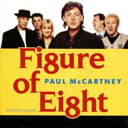 Coverafbeelding Paul McCartney - Fi8ure Of Ei8ht