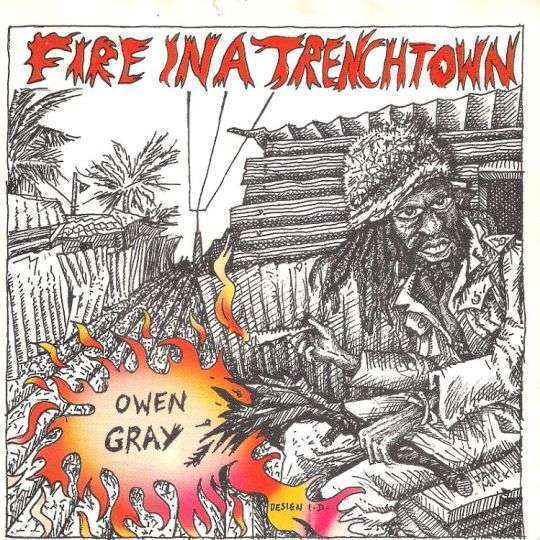 Coverafbeelding Fire In A Trenchtown - Owen Gray
