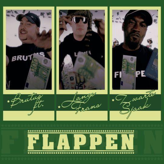 Coverafbeelding Flappen - Brutus Ft. Lange Frans & Zwarte Sjaak