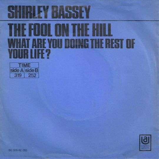 Coverafbeelding Shirley Bassey - The Fool On The Hill