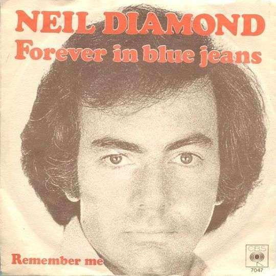 Coverafbeelding Neil Diamond - Forever In Blue Jeans