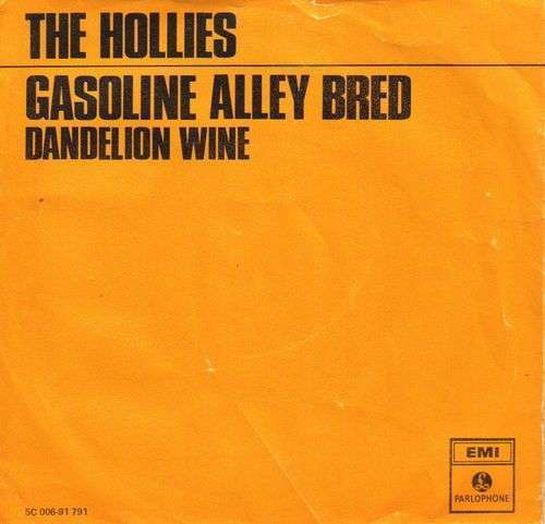 Coverafbeelding Gasoline Alley Bred - The Hollies