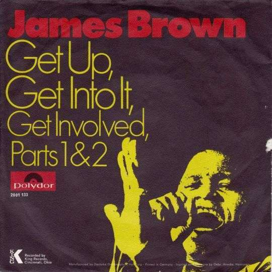 Coverafbeelding Get Up, Get Into It, Get Involved - James Brown