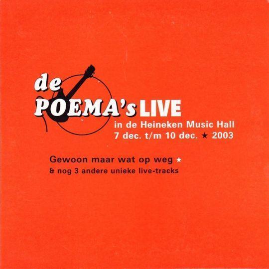 Coverafbeelding De Poema's - Gewoon Maar Wat Op Weg [Live]