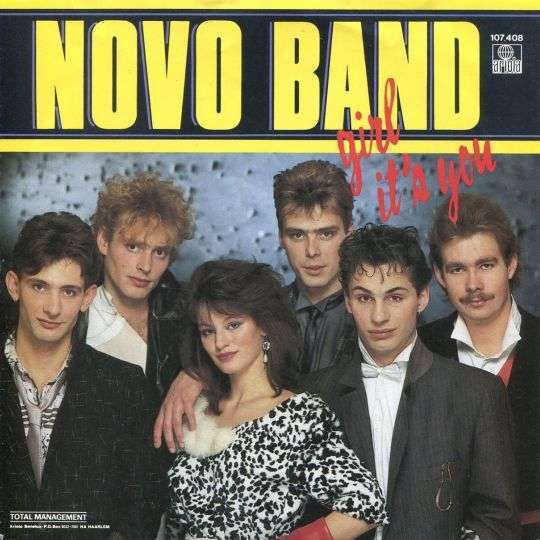 Coverafbeelding Girl It's You - Novo Band