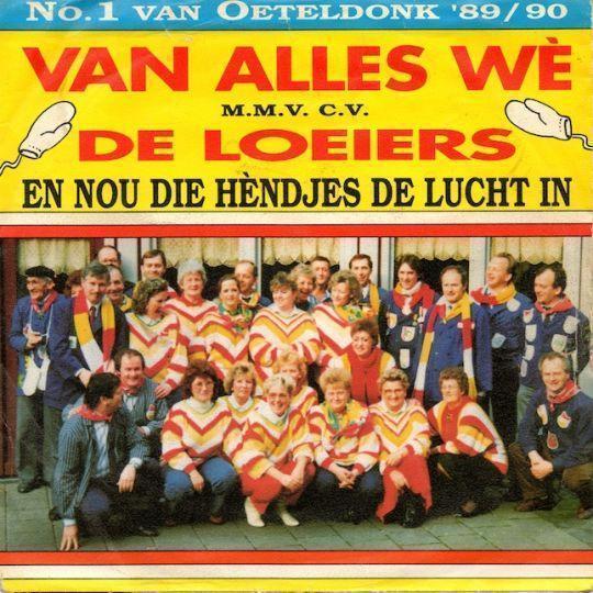 Coverafbeelding En Nou Die Hèndjes De Lucht In - Van Alles Wè M.m.v. C.v. De Loeiers
