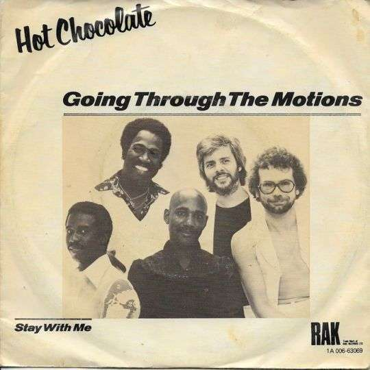 Coverafbeelding Going Through The Motions - Hot Chocolate
