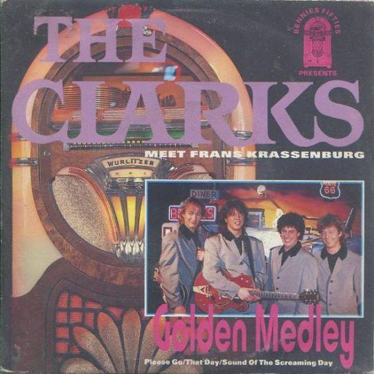 Coverafbeelding The Clarks meet Frans Krassenburg - Golden Medley