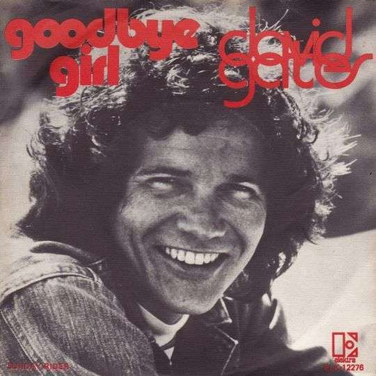Coverafbeelding David Gates - Goodbye Girl