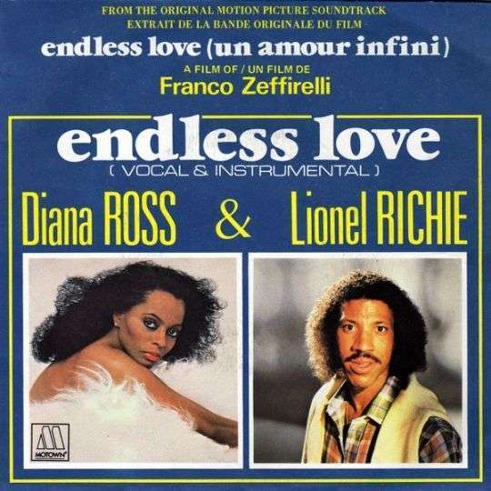 Coverafbeelding Endless Love - Diana Ross & Lionel Richie