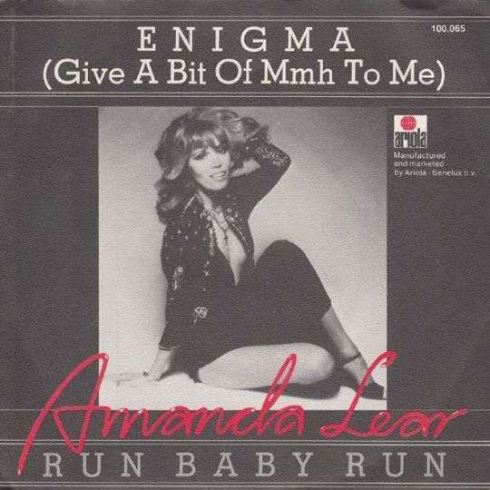 Coverafbeelding Amanda Lear - Enigma (Give A Bit Of Mmh To Me)