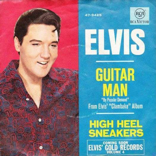 Coverafbeelding Guitar Man - Elvis