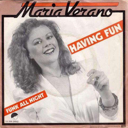 Coverafbeelding Having Fun - Maria Verano