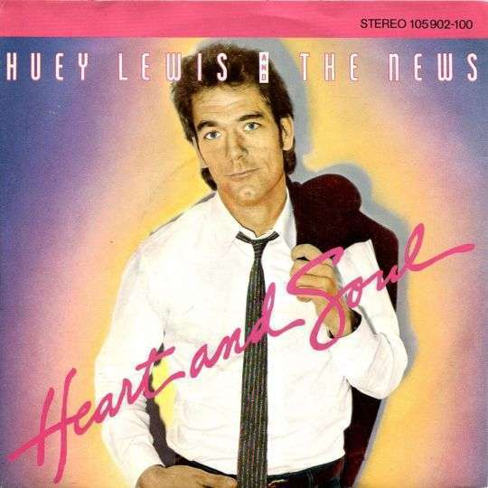Coverafbeelding Heart And Soul - Huey Lewis And The News
