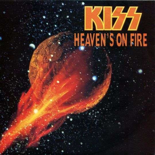 Coverafbeelding Heaven's On Fire - Kiss