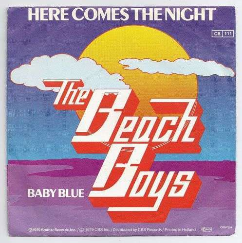 Coverafbeelding Here Comes The Night - The Beach Boys