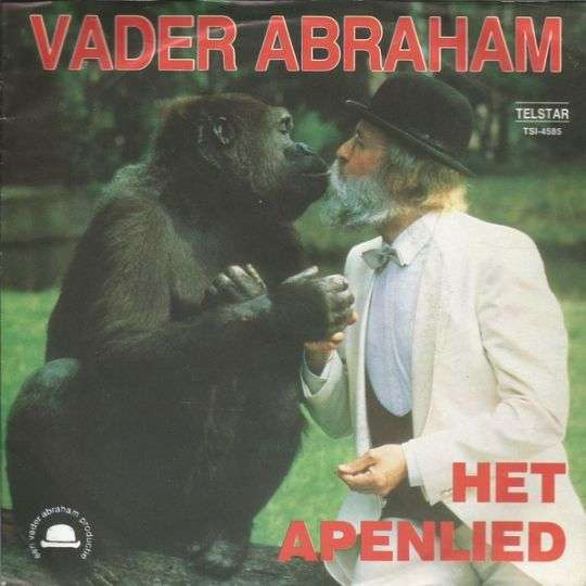 Coverafbeelding Het Apenlied - Vader Abraham
