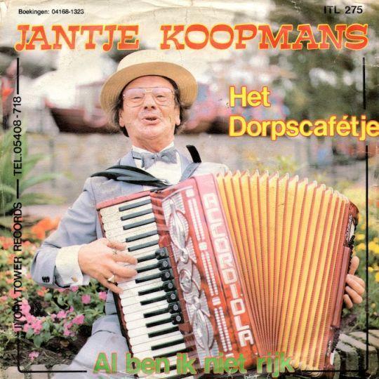 Coverafbeelding Het Dorpscafétje - Jantje Koopmans