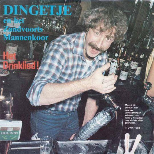Coverafbeelding Het Drinklied! - Dingetje En Het Zandvoorts Mannenkoor