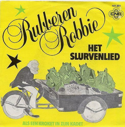 Coverafbeelding Het Slurvenlied - Rubberen Robbie