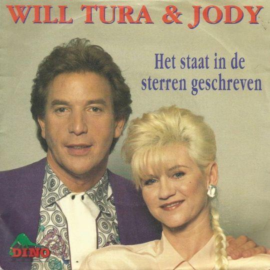 Coverafbeelding Het Staat In De Sterren Geschreven - Will Tura & Jody