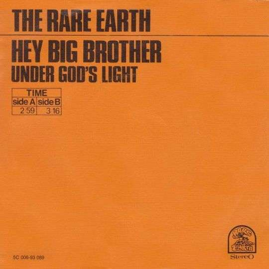 Coverafbeelding Hey Big Brother - The Rare Earth