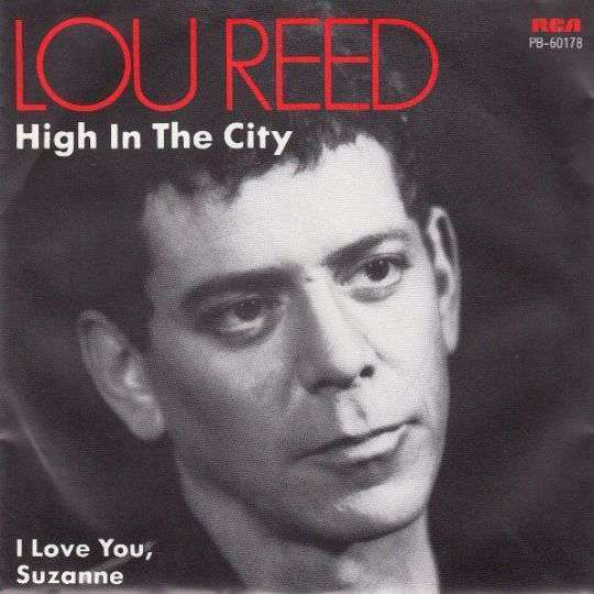 Coverafbeelding Lou Reed - High In The City