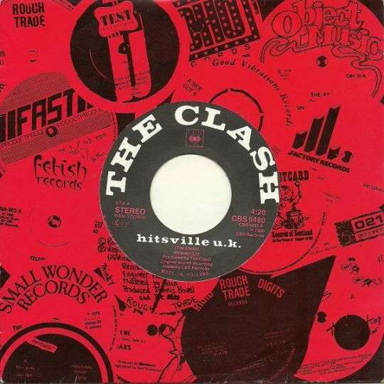 Coverafbeelding Hitsville U.k. - The Clash
