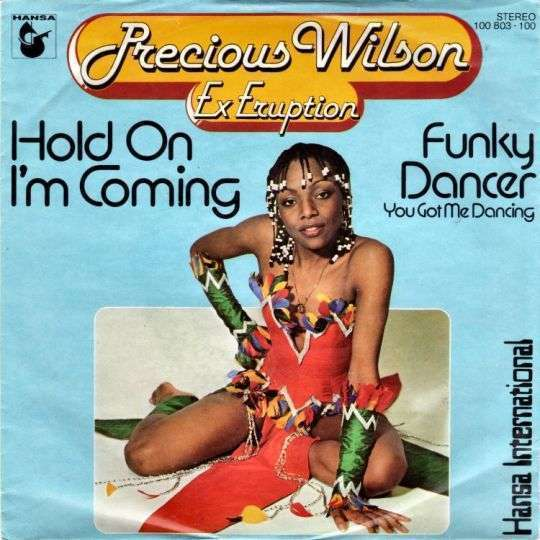 Coverafbeelding Hold On I'm Coming - Precious Wilson Ex Eruption