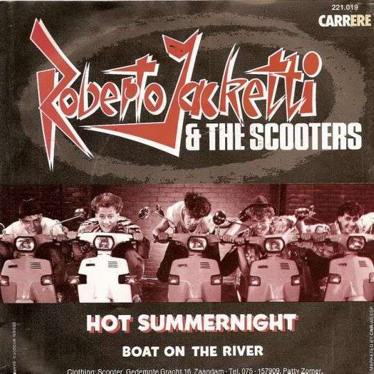Coverafbeelding Hot Summernight - Roberto Jacketti & The Scooters