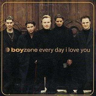 Coverafbeelding Every Day I Love You - Boyzone