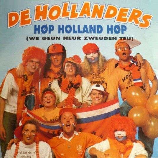 Coverafbeelding Høp Holland Høp (We Geun Neur Zweuden Teu) - De Hollanders