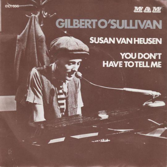 Coverafbeelding I Didn't Know What To Do - Gilbert O'sullivan