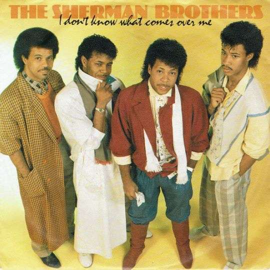 Coverafbeelding I Don't Know What Comes Over Me - The Sherman Brothers