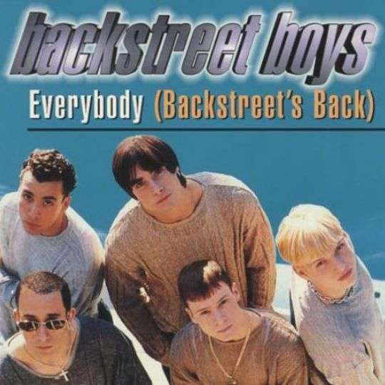 Coverafbeelding Everybody (Backstreet's Back) - Backstreet Boys