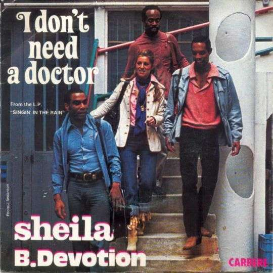 Coverafbeelding I Don't Need A Doctor - Sheila B. Devotion