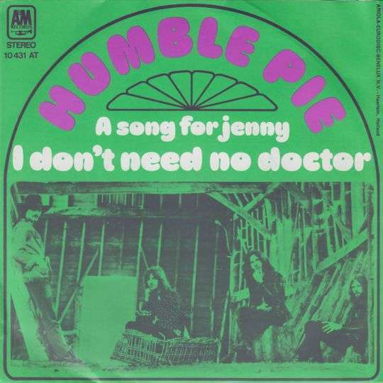 Coverafbeelding I Don't Need No Doctor - Humble Pie