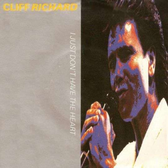 Coverafbeelding I Just Don't Have The Heart - Cliff Richard