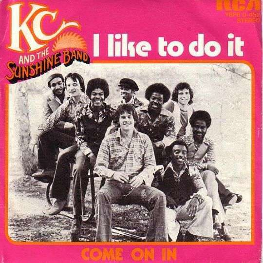 Coverafbeelding I Like To Do It - Kc And The Sunshine Band