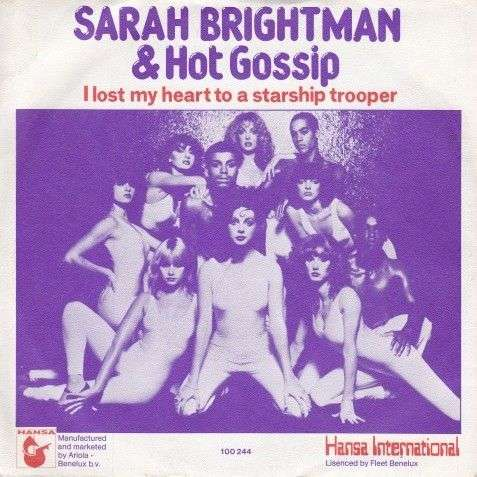 Coverafbeelding I Lost My Heart To A Starship Trooper - Sarah Brightman & Hot Gossip