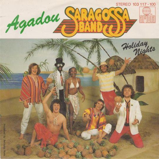 Coverafbeelding Saragossa Band - Agadou