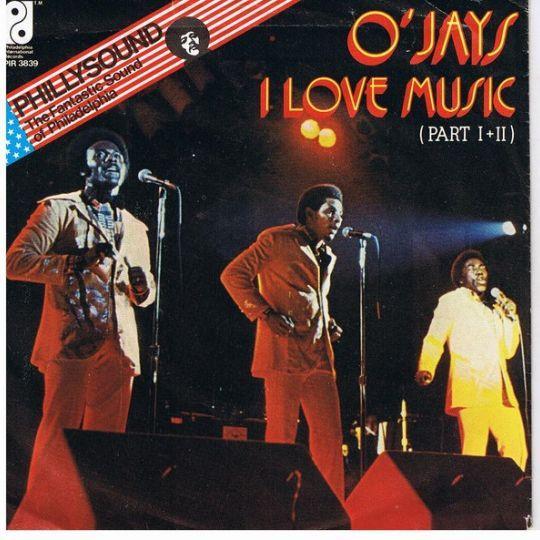 Coverafbeelding I Love Music - O'jays