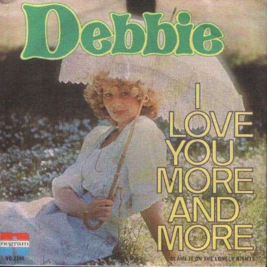 Coverafbeelding I Love You More And More - Debbie