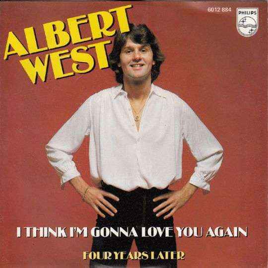 Coverafbeelding Albert West - I Think I'm Gonna Love You Again