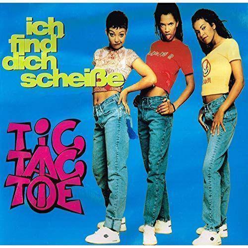 Coverafbeelding Ich Find' Dich Scheiße - Tic Tac Toe