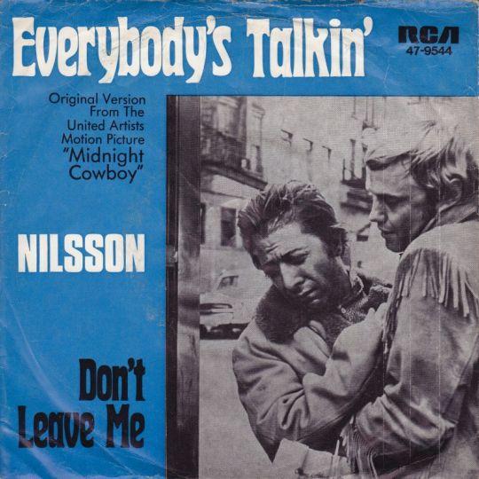 Coverafbeelding Everybody's Talkin' - Nilsson ((Usa))
